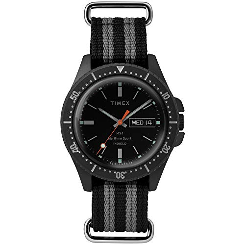Timex Todd Snyder Maritime Sport 41mm Black/Grey One Size