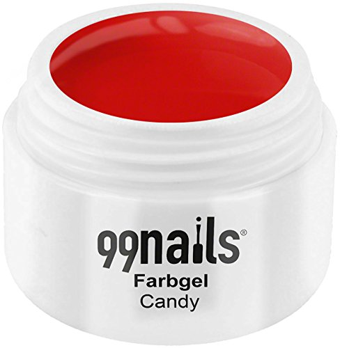 99 Nails® Farbgel – Candy, 1er Pack (1 x 5 ml)