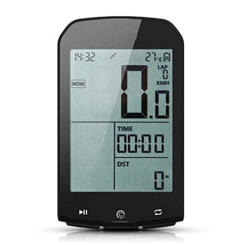 YIQIFEI Bicicleta Cuentakilómetros Velocímetro Computadora para Bicicleta GPS Inteligente Computadora para Ciclismo Computadora inalámbrica para Bicicleta Velocidad Digital (Reloj de Bicicleta)