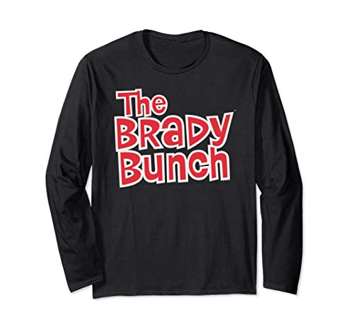 The Brady Bunch Logo Long Sleeve T-Shirt