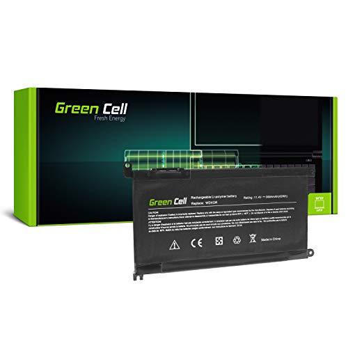 Green Cell WDX0R WDXOR Laptop Battery for Dell Latitude 11 3180 3189 3190 13 3379 3390 3480 3490 3590 Vostro 14 5468 5471 15 3580 3581 3584 5568 (3684mAh 11.4V)