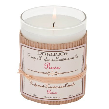 DURANCE Bougie Parfum Rose