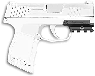 Recover Tactical ZR65 Picatinny Over Rail for The Sig P365- Easy Installation, No Modifications Required to Your Firearm, no Need for a Gunsmith. Installs in Under 3 Minutes