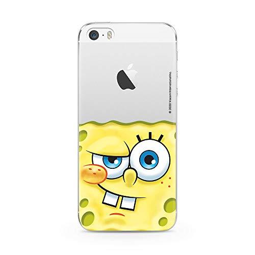 Ert Group NPCSBOB10226 Custodia per Cellulare SpongeBob 023 iPhone 5/5S/SE