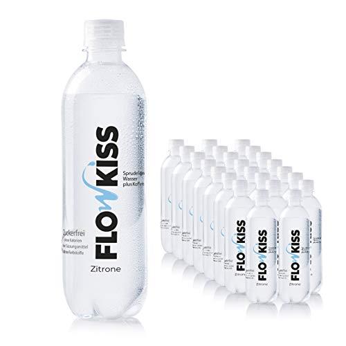FH2OCUS ist jetzt FLOWKISS Koffeinwasser mit natürlichem Zitronenaroma | Zuckerfrei, ohne Kalorien, ohne Süßungsmittel, ohne Farbstoffe | 20mg Koffein / 100ml [24x500ml, inkl. 6€ Pfand]