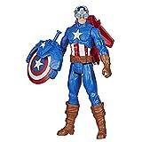 Hasbro Marvel Legends Series Avengers Titan Hero - Blast Gear, Captain America, Figurina, 30 cm, Multicolore, E7374