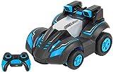 Control remoto de coches for los muchachos, Drift coche del truco acrobático Buggy 360 grados de alta velocidad de rotación de 2,4 Ghz remoto de coches de juguete de control con luces, regalos de Navi
