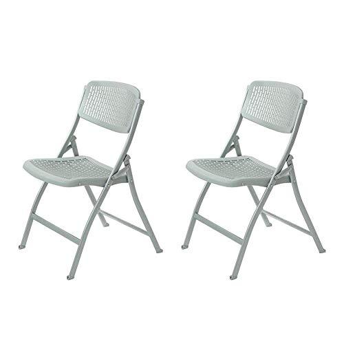GPWDSN houten klapstoelen eenvoudige bureaustoel Staff Training stoel Vrijetijdsstoel conferentiestoel Geel, Maat: 2 stuks