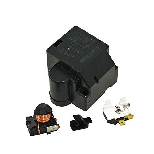 Whirlpool W4387938 Refrigerator Compressor Overload and Start Relay Genuine Original Equipment Manufacturer (OEM) Part