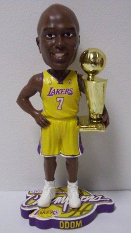 Lamar Odom L.A. Lakers NBA Champions Bobblehead image
