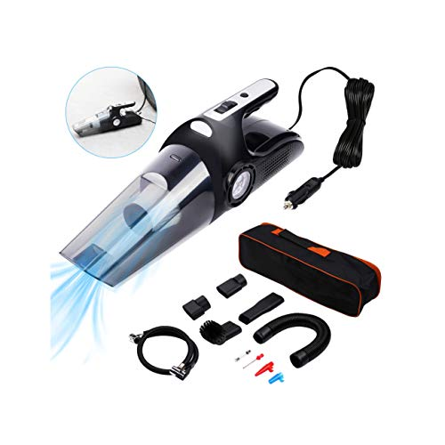 COOLWOW Car Vacuum Cleaner 4 in 1 Handheld Corded Mini Vacuum Air...
