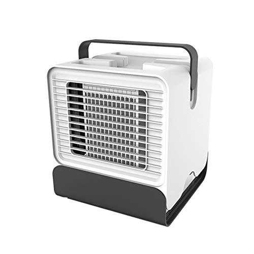 IronHeel Picche Un Mini Dispositivo di Raffreddamento dell'Aria Ventilatore di ioni Negativi Aria condizionata Dormitorio Ufficio USB Piccola Ventola di Raffreddamento - Bianca