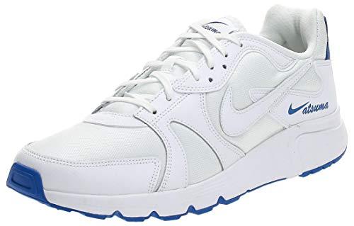 Nike Atsuma Hombre Trainers CD5461 Sneakers Zapatos (UK 7.5 US 8.5 EU 42, White Game Royal 101)