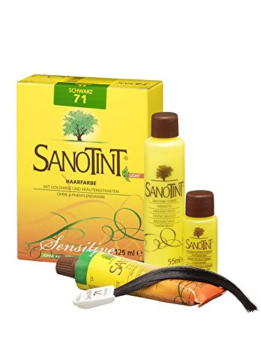 SANOTINT® Haarfarbe sensitive ?light? Nr. 71 ?Schwarz? (125 ml)