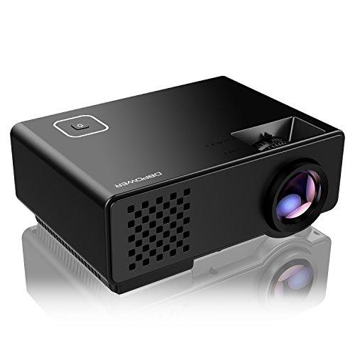 Video Projector -DBPOWER RD810 Portable Mini Projector (Black)