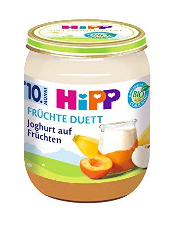 HiPP Joghurt auf Früchten, 6er Pack (6 x 160 g)