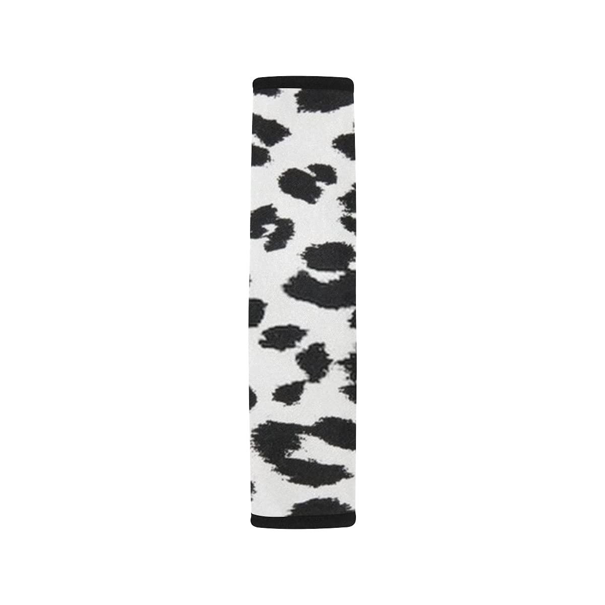 2pcs Car Seat Belt Cover Fabric Texture Print Shoulder Max 48% Max 71% OFF OFF Animal Se