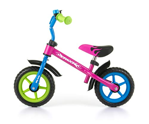 Milly Mally Dragon Balance Bike Rider