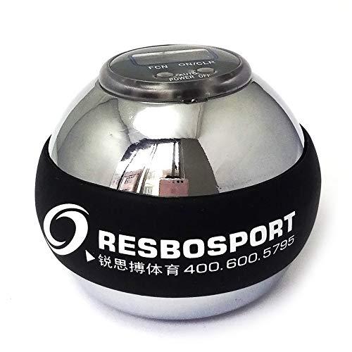 Nologo KUQIQI Formateur Relax Gyroscope Balle Haute qualit/é Poignet Muscle Power Ball Gyro Bras exerciseur Fortifiant LED Balle de Remise en Forme,Equipement Fitness Couleur : Violet