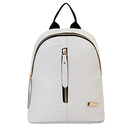 Goddessvan Retro Backpack Purse for Women Lightweight Waterproof Travel Bags Ladies Notebook Bag Gray
