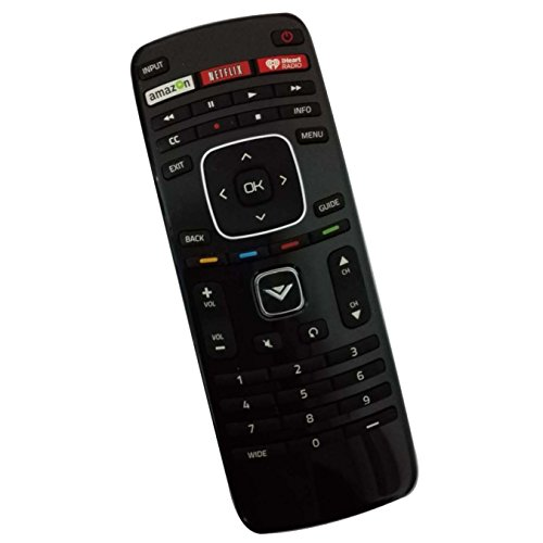 Beyution New XRT112 iHeart Remote fit for Vizio LED TV E280i-A1 E320i-B0 E390i-A1 E400i-B2 E420i-A1 E500D-A0 E550i-A0 E241i-A1 E280i-B1 with Amazon Netflix iHeartRadio App Keys