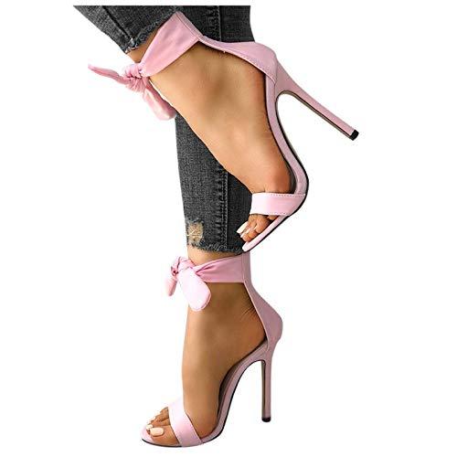 FRAUIT Sandali Estivi Donna Con Tacco A Spillo Scarpe Ragazza Tacco Alto Sexy Sandali Donne Eleganti Alti Scarpe Sposa Da Cerimonia Sabot Zoccoli Infradito Ciabatte Pantofole