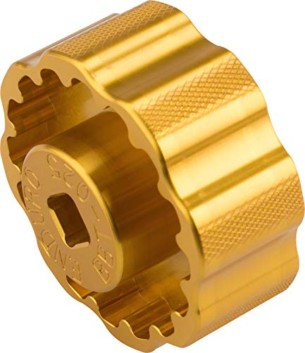 Enduro Bearings BBT-025 TorqTite Pro Cup Adulte Unisexe, Chromé, One Size