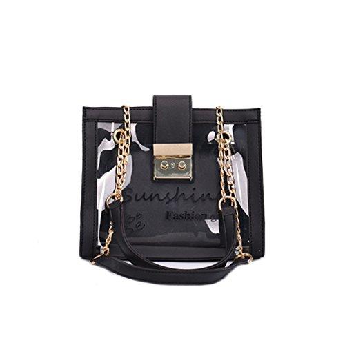 XNRHH 2018 Baby Kleine Goldkette Gesteppte Umhängetasche Mini Cross Body Damen Handtasche Clutch Classic Abendtasche (Flanellblau, 23 * 15 * 7cm)