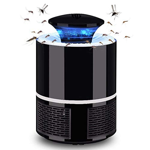 Huntingood Electric Mosquito Insect Killer/Bug Zapper with 360 Degrees LED Trap Lamp,Strong Built in...