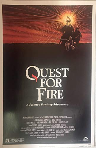 QUEST FOR FIRE (1982) Authentic Original Movie Poster - Single-Sided - 27x41 - Rolled - Everett McGill - Rae Dawn Chong - Ron Peralman -