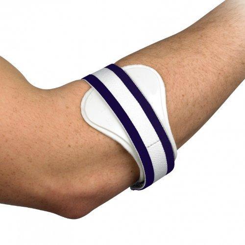 Medipaq Tennis oder Golferellbogen Epicondylitis Stützschnalle – Trägt Druck auf die geschädigten Bänder zu für Schmerzlinderung.