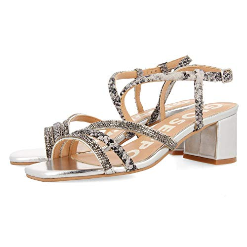 GIOSEPPO Belk, Zapatos de tacón con Punta Abierta Mujer