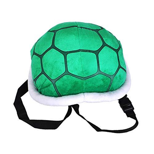 CoolChange Schildkrötenpanzer aus Plüsch für Kinder Kostüm I Ninja Turtle Verkleidung I Schildkröten Rucksack I Grün