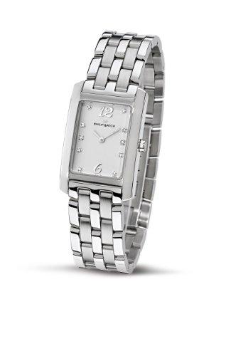 Philip Watch Diamonds R8253422713 - Reloj de Mujer de Cuarzo, Correa de Acero Inoxidable Color Plata