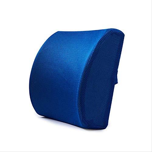 Home Office Back Rest Chair Lumbar Cushion Car Seat Neck Pillow 3D Memory Foam Support Back Massager Waist Rest Sitting Pillow