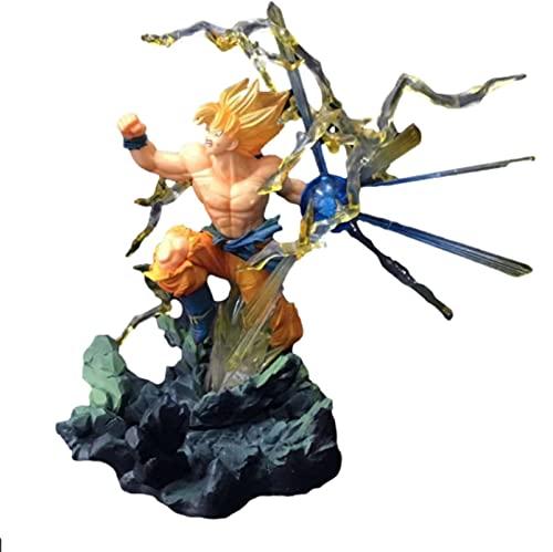 Dragon Ball Zero Soul SuperSaiyanGokuThree GenerationsVegetaFigura De Acción 19Cm, Figura En Caja Decoración Juguete De Regalo