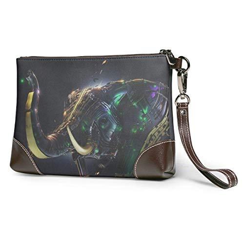 Geldbörsen Clutch, Telefon-Brieftaschen, mechanisches Elefanten-Leder, kleine Handtasche
