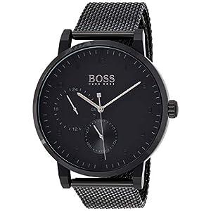 Hugo BOSS Reloj Multiesfera para Hombre de Cuarzo con Correa en Acero Inoxidable