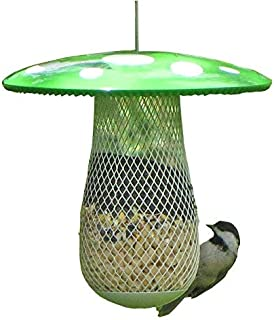CHILIPET The Best Wild Bird Feeder to Attract More Wild Birds, Fill it with Sunflower Black Oil Seeds, Peanuts and Suet Pellets Easy to Install, Clean & Fill