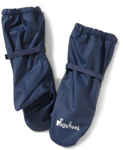 Playshoes Kinder wasserdichte Handschuhe mit Fleece-Futter, Blau (Marine ), 116-140