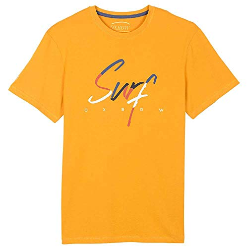 Oxbow M2TRELLO Tee Shirt Homme Sunflower FR : M (Taille Fabricant : M)