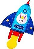 Fuerte y Resistente Cometa, Cometa Niños Cometas for niños fácil de Volar con Deportes al Aire Libre Gaviota Cometa Duro Esqueleto (Color: Azul) (Color : Blue)