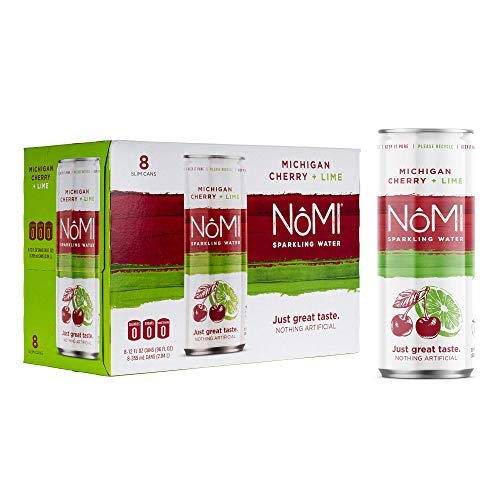 (40% OFF Coupon) NoMI Sparkling Water Cherry Extract & Lime No Added Sugar 24 Pack $15.59