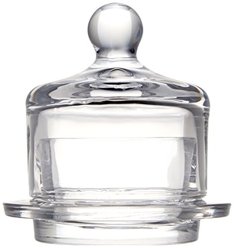 Abbott Collection Butter Dish w/ Dome, Small (2 pieces)