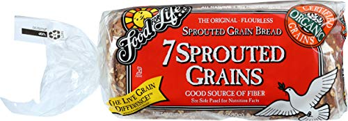 Food For Life Flourless Sprouted Grain Bread, 7 Grain, 24 oz (Frozen)