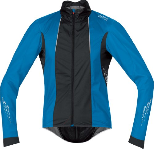 Gore Bike WEAR Herren Jacke Xenon 2.0 Active Shell, Splash Blue/Black, M, JWXENA569908