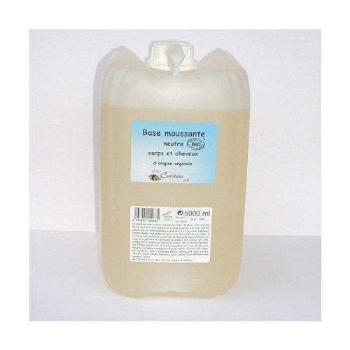 Centifolia - Gel Moussant Neutre Bio - Bain et Douche/corps et cheveux - 5L