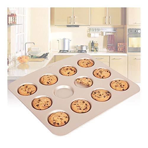 Cavity Cookie Roast Pans Professional Carbon Steel Non-Stick Ubi Pie Mold Half-Sheet Cooking Baking Trays