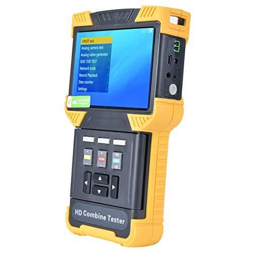 Probador de CCTV, Probador de cámara, Probador de cámara analógica IP Digital 4.0 pulgadas de alta definición para dirección IP(Normativas europeas)