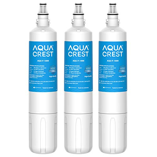 AQUA CREST F-1000 Undersink Water Filter, Replacement for F-1000 and AquaPure AP Easy C-Complete, Pack of 3 Maine